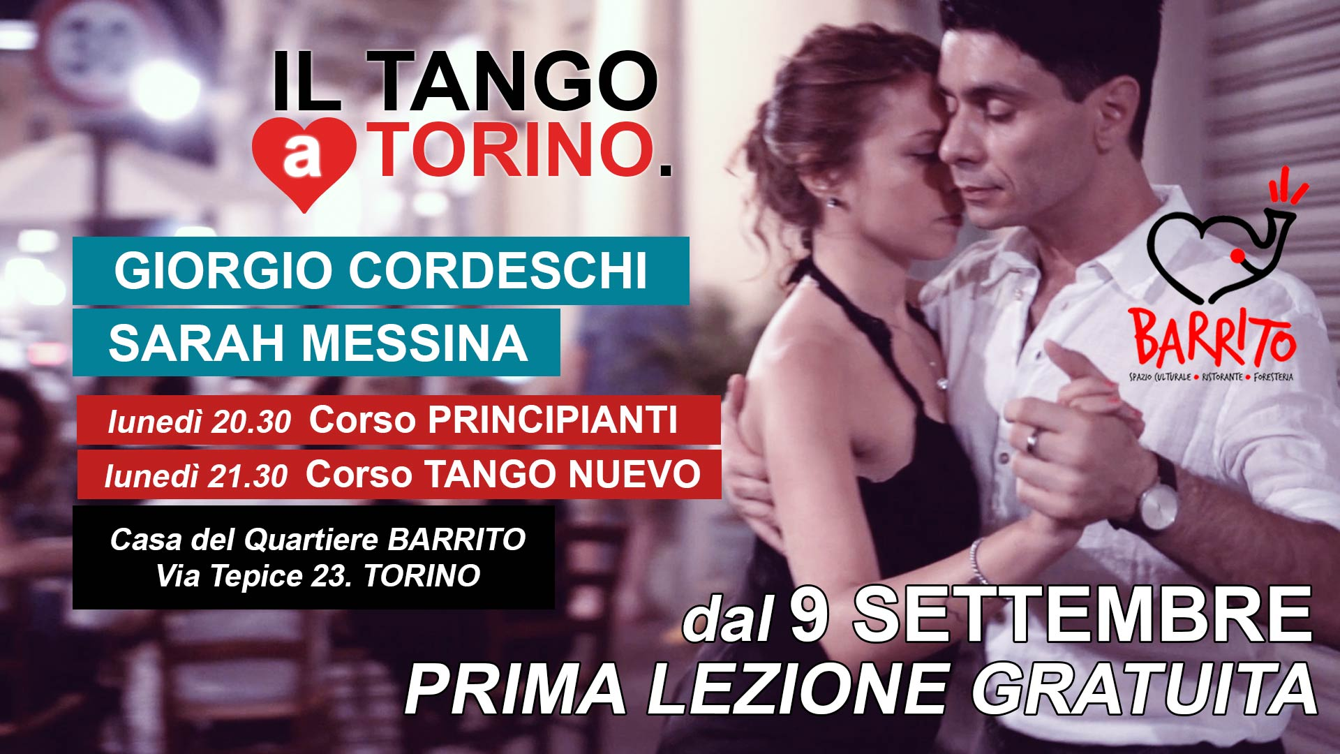il tuo Tango online dating